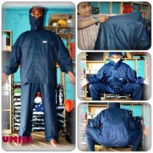 Jas Hujan Bahan Karet/Rubber (Jaket-Celana)