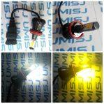 Lampu Led H11/H8 Dual Colour (Putih-Kuning)