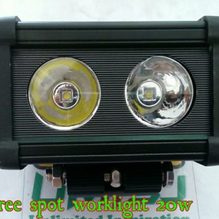Lampu Tembak CREE Worklight Daya 20 watt Kotak Besar