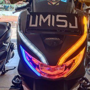 Honda Pcx Custom Lampu Drl Alis Sen Running