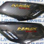 Cover Body Samping Pijakan Khusus Untuk Motor Yamaha Nmax Dengan Motif Carbon
