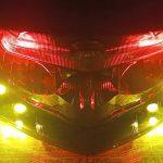 Lampu Stoplamp Nmax Dengan Headlamp Depan Tambahan Lampu Sein Mata Elang