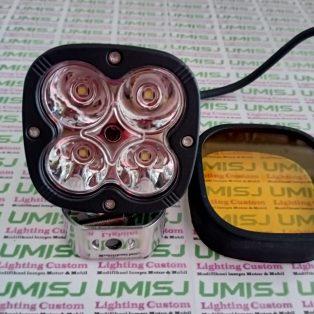 Lampu Tembak Sorot L4Z 4 Mata Dengan Lensa Kuning Bisa Untuk Kabut